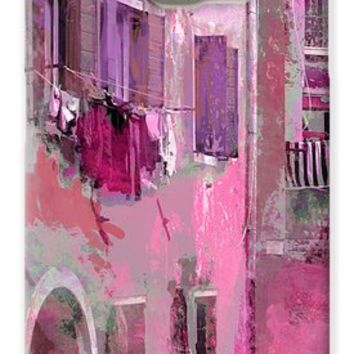 Venice Washday In Pink Galaxy S6 Case for Sale by Suzanne Powers
