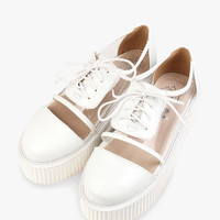 College White Shoes