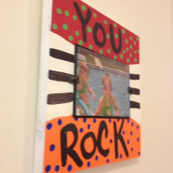 "Bright - ""You Rock"" picture frame"