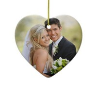 Our First Christmas Photo Ornament from Zazzle.com