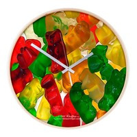 Gummi Bears Wall Clock on CafePress.com