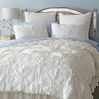 Savannah Bedding - Ivory