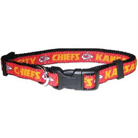 Kansas City Chiefs Collar Medium