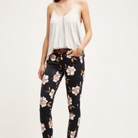 7 For All Mankind Ankle Skinny Jeans in Calypso Floral Size: