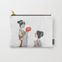 Two ancient Chinese beauties Carry-All Pouch by Color and Color