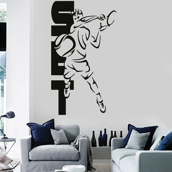 Vinyl Decal Wall Stickers Sport Tennis Set Cool Decor For Living Room (z1679)