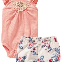 Old Navy Bodysuit And Bloomer Sets For Baby