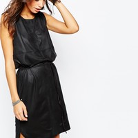 Only Suedette Shift Tunic Dress