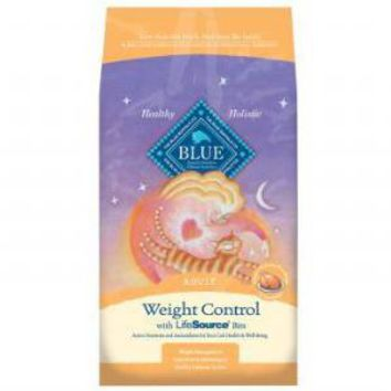 Blue Weight Control Cat Food 3 pound