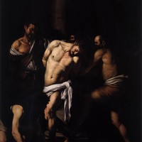 Flagellation of Christ - Caravaggio - Canvas Artwork