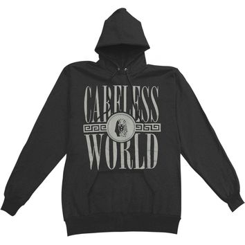 Tyga Men's  Careless World Hooded Sweatshirt Black