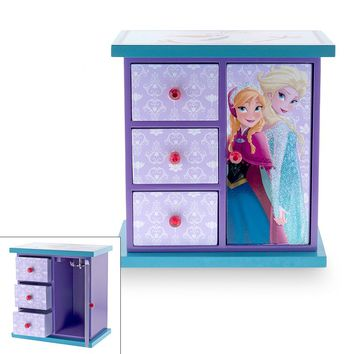 Disney Frozen Elsa & Anna Jewelry Box