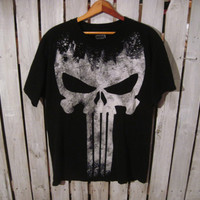 The Punisher T-Shirt, Size Large, Marvel Comics