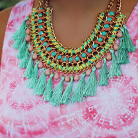 Pastel Party Statement Necklace