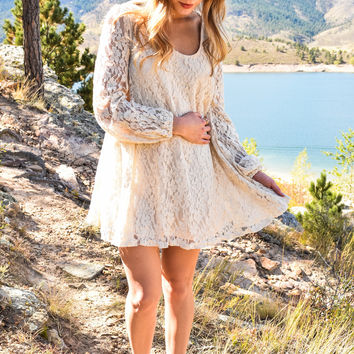 Angel In The Sky Lace Tunic