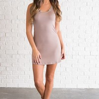 Grayson Basic Dress (Dune)