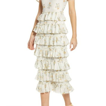 WAYF Darlene Tiered Ruffle Dress | Nordstrom
