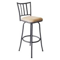 "Robinson 29"" Barstool Metal/Brown - Cheyenne Products : Target"