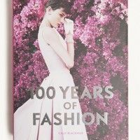 100 Years Of Fashion Book