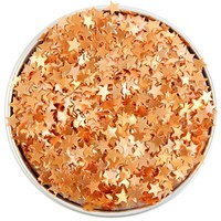 Copper Star Edible Glitter
