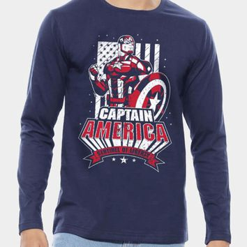 Captain America Sentinel of Liberty Full Sleeves