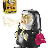 Nunzilla - Wind-Up Sparking Nun Toy