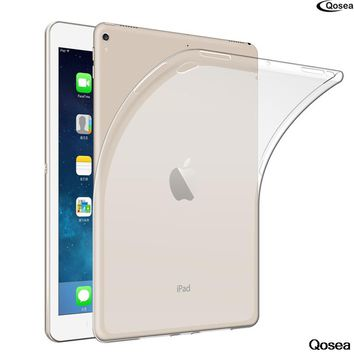 "Qosea For Apple i Pad Pro 10.5""Table Case Ultra-thin Transparent Soft TPU Silicone Protector For Apple i Pad Pro Table Cover"