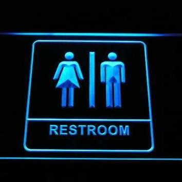 Unisex Washroom Restroom Neon Sign (LED)