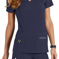 Med Couture Activate Refined scrub top.