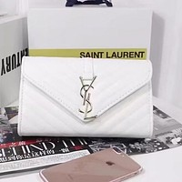 YSL Yves Saint Laurent Women Fashion Leather Satchel Shoulder Bag Crossbody