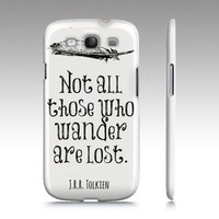 Lord of the Rings Premium Phone Case  White  by NeverMorePrints