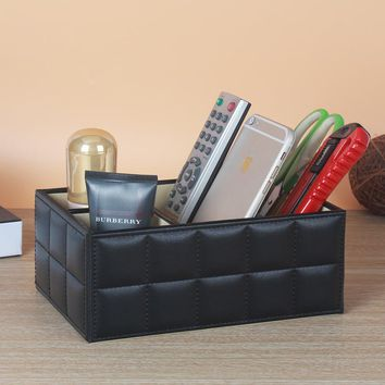 2017 Brand New Classic Vintage Office Desk Set Table Accessory Organizer Case Cosmetic Romote Storage Box Pen Holder Cases