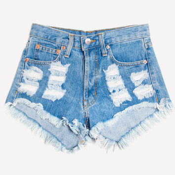 Distressed Stone Dreamer Shorts