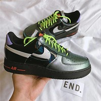 Nike Air Force 1 Low '07 Vandalized off-hook low-top wild casual sneakers shoes