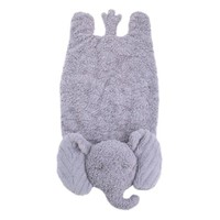 Cuddle Me Cuddle Plush Tummy Time Play Mat - Grey Elephant - Walmart.com