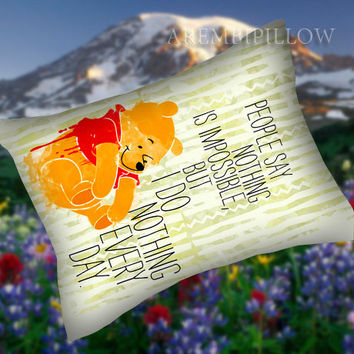 I do nothing every day - Pillow Case,Retro Pillow,Throw Pillow,Sova Pillow,Pillow Cover.The Best Pillow.