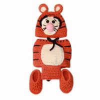 Tiger Baby Costume Set