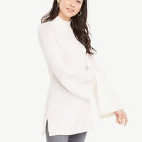 Bell Sleeve Tunic Sweater | Ann Taylor