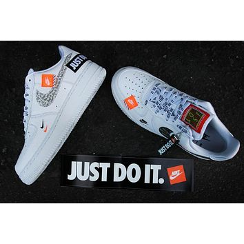 Just Do It Nike Air Force 1 Low Ar7719 100 Sneaker | Best Deal Online