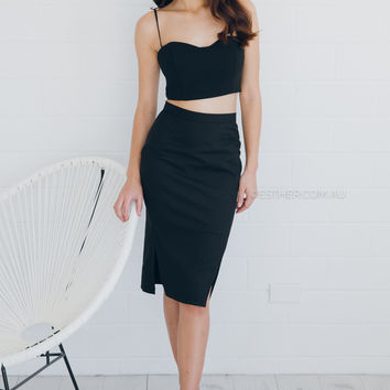 annabelle two piece - black