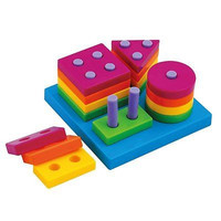 Boys Girls Shape Sorting Board and Stacking Baby Funny Specialty Plan Toys