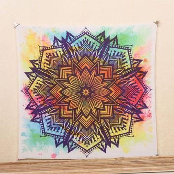 LMF9GW Indian Mandala Retro Tapestry Hippie Wall Hanging Bohemian Bedspread Dorm Decors
