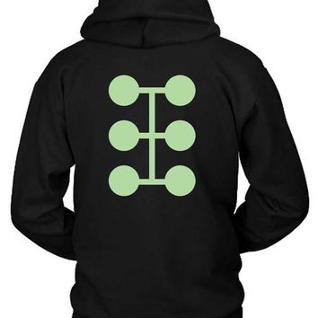 DCCKG72 Marvel Madrox Factor Logo Hoodie Two Sided