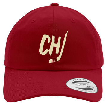 Chicago Blackhawks Embroidered Cotton Twill Hat