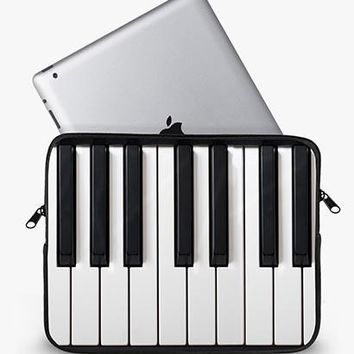 Piano Keys Ipad Sleeve