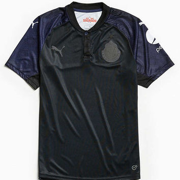Puma Blackout Chivas Soccer Jersey | Urban Outfitters