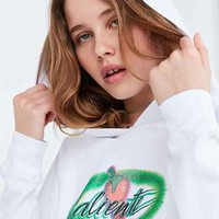 Truly Madly Deeply Caliente Airbrush Hoodie Sweatshirt - Urban Outfitters