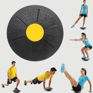 Creative Yoga Wobble Balance Board Ankle Knee Rehab Exercise Balance Trainer Supplies