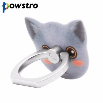 FORNORM Finger Ring Mobile Cell Phone Smartphone Stand Holder Super Strong Adhesive Magic Durable Portable Holder