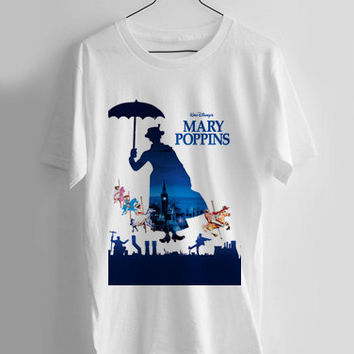 Mary Poppins T-shirt Men, Women Youth and Toddler